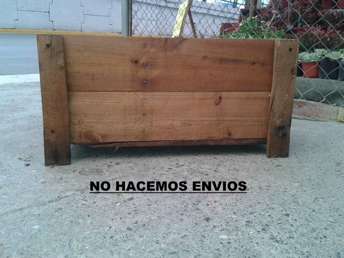 Macetas de madera huertos caseros jardin hortalizas - Macetas de madera para exterior ...