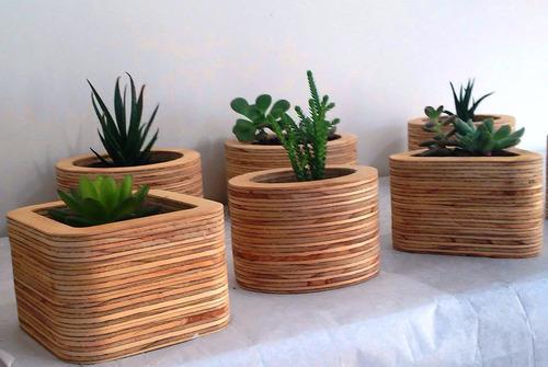 Como hacer maceteros de madera cajones madera pallet para - Macetas de madera para exterior ...