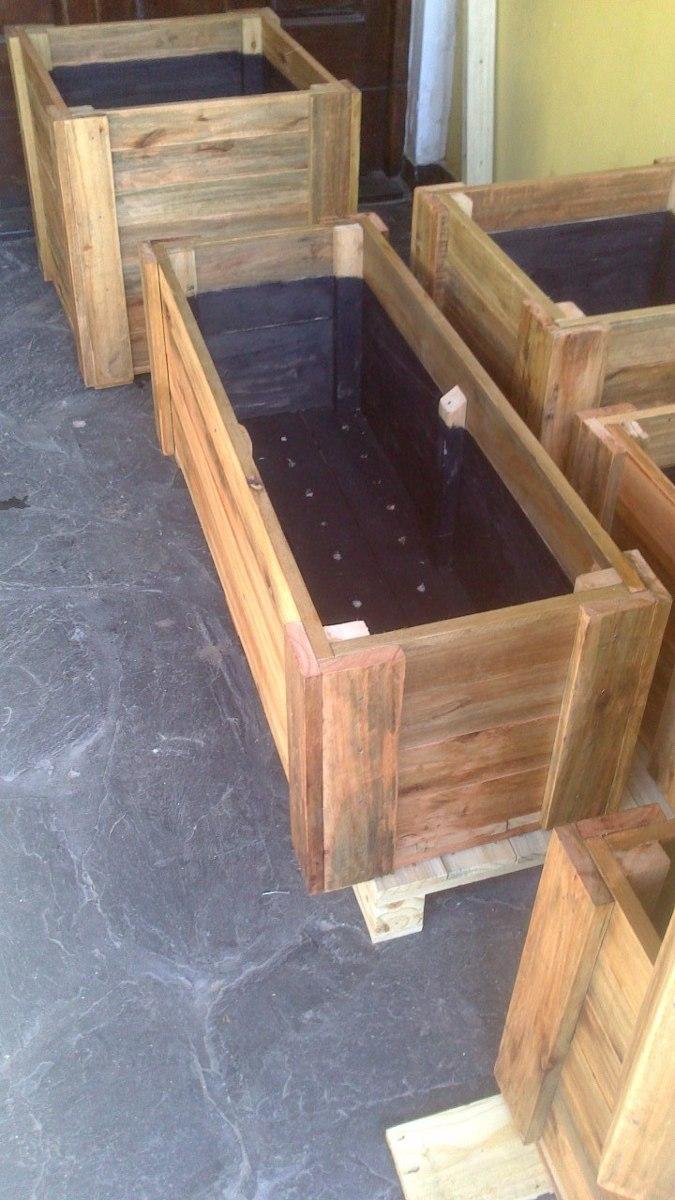 Macetas madera caja de madera cajas de madera vintage - Jardineras de madera caseras ...