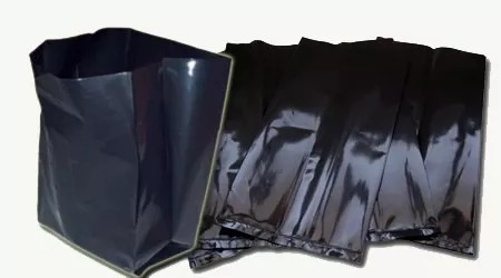 macetas en nylon negro 10 a 12 lts. 30 x 40 (x10 unidades)