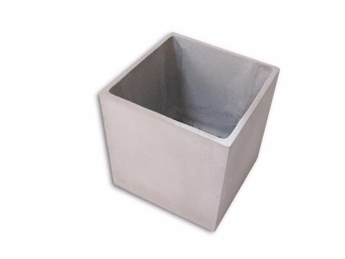 macetas hormigon cubicas reforzadas varias medidas