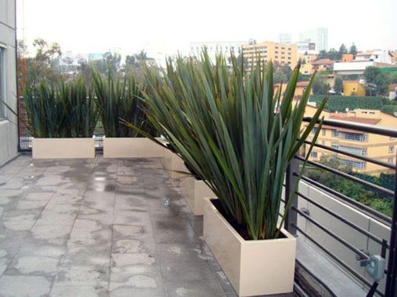 Macetas Jardineras Modernas Alta Resistencia Medida 20x100cm - $ 700 ...