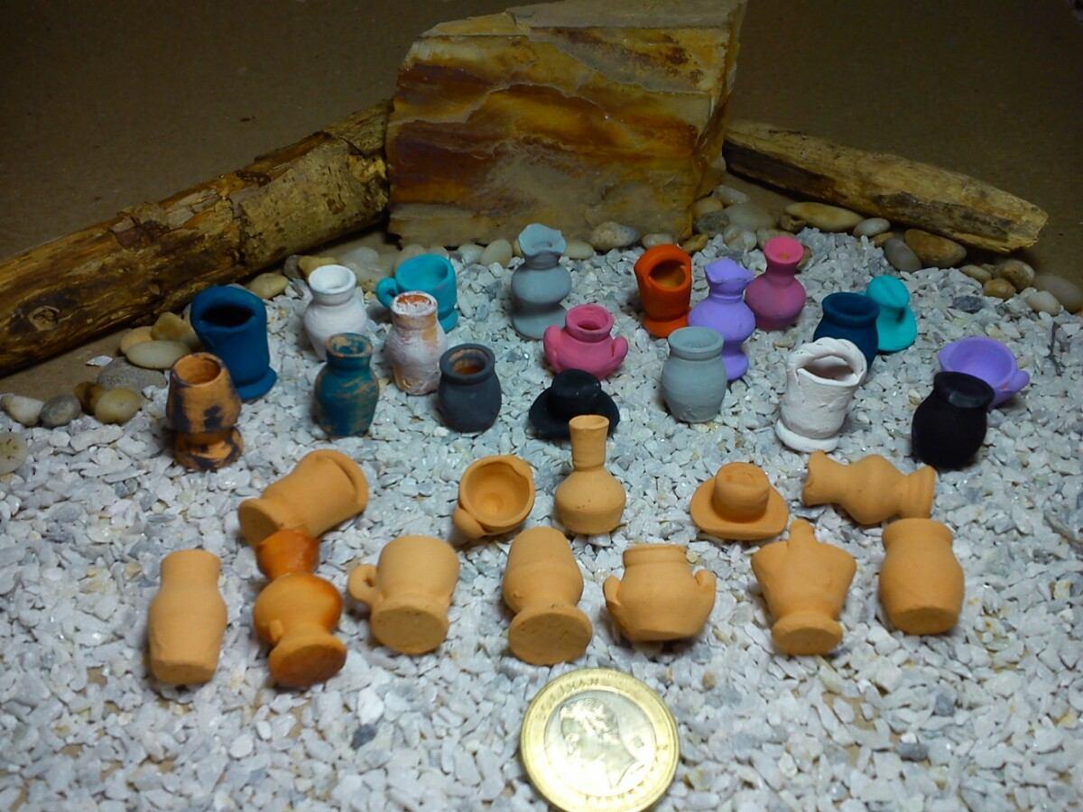 macetas materos en miniatura nro precio por docena