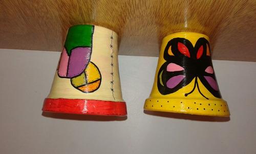 macetas pintadas y decoradas