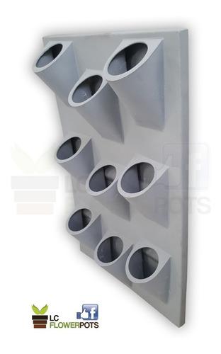 macetas plasticas jardin vertical 54 x 83 alto