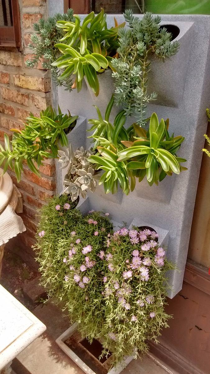 macetas para jardin vertical enrejado con macetas jardn
