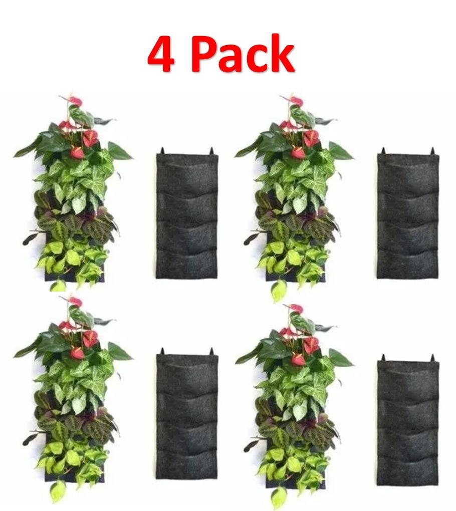 Macetas verticales huerto colgante jard n vertical 549 - Macetas para jardin vertical ...