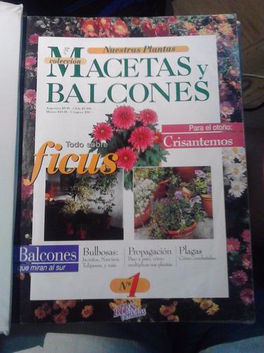 macetas y balcones colección completa encuadern.