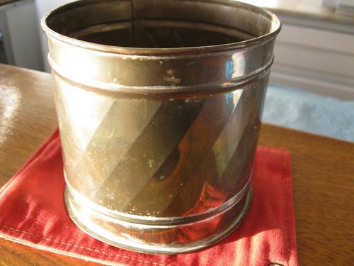 macetero de bronce-muy antiguo-excelente calidad de bronce
