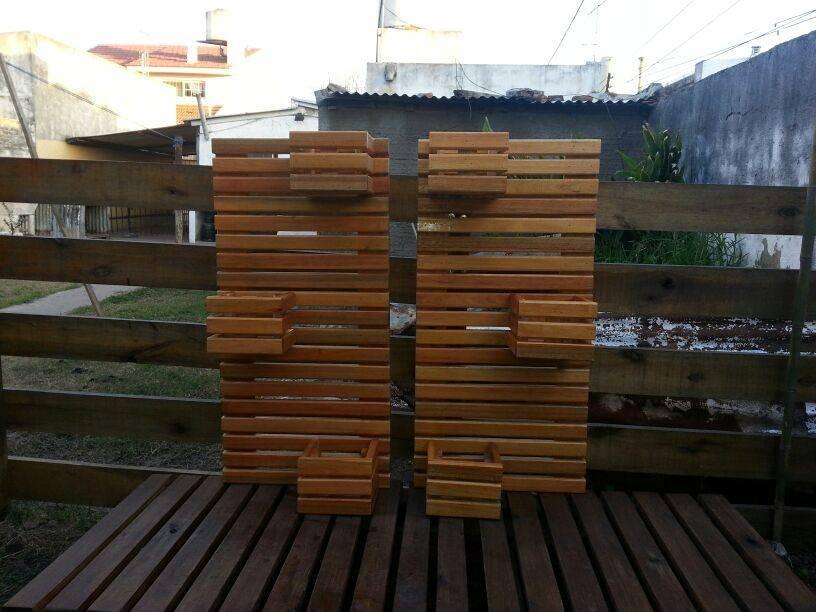 Maceteros de madera para exterior maceteros y plantas gigantes para decoracin de interiores y - Tipo de madera para exterior ...