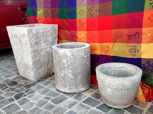 maceteros de cemento