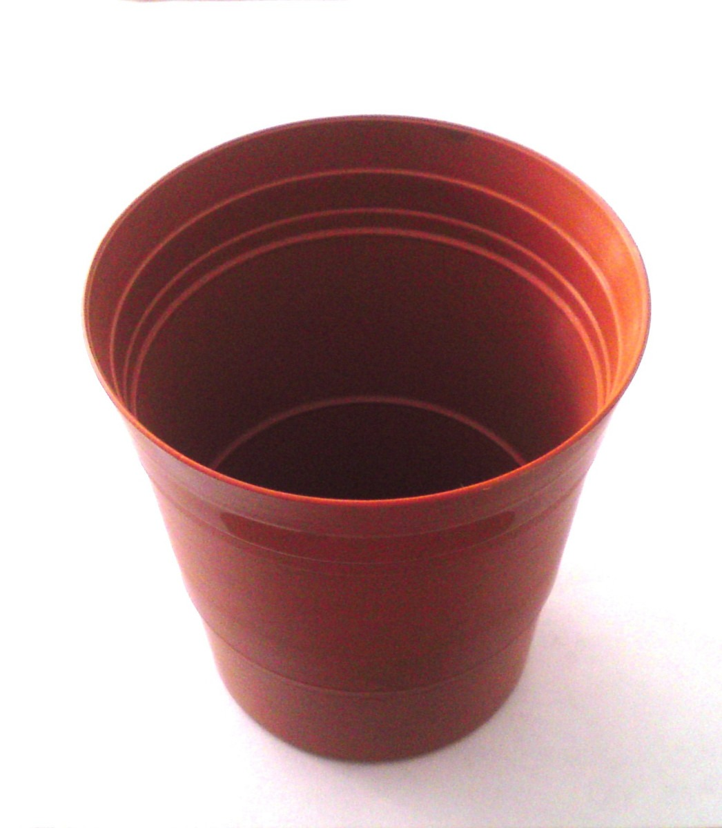 Macetita de 9 y 10 cm diam plastico decora mesas y for Mesas de jardin de plastico