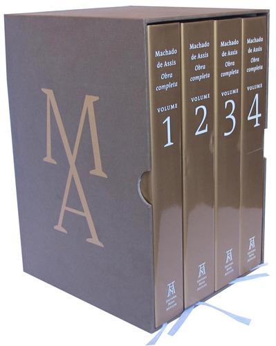 machado de assis - obra completa - 4 volumes