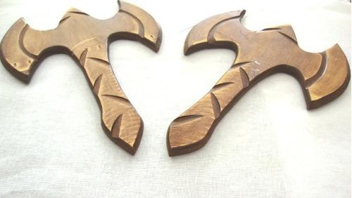 machado de xangô- 41cm-  umbanda/candomblé - cada