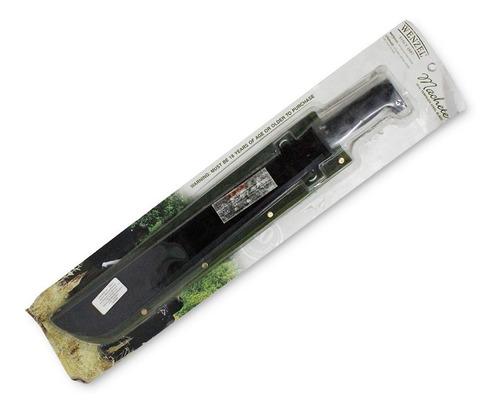 machete de acero templado con funda verde wenzel 51090