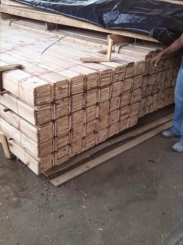 machihembrado seco al horno (m2) con certificado exportación
