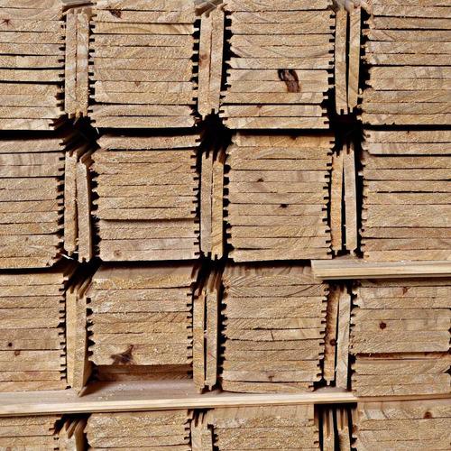 machimbre de pino, espesor 1/2 , 2da calidad, seco en horno
