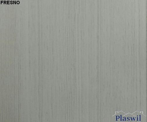 machimbre de pvc color 250mm x 9mm - antihumedad