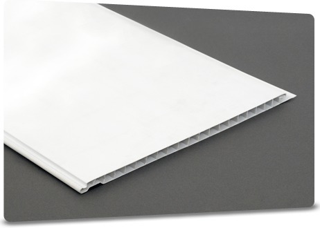 machimbre pvc liso blanco 25cm
