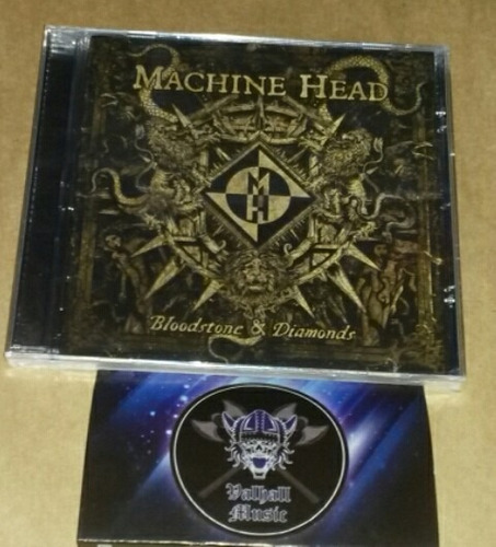 machine head - bloodstone and diamonds (cd lacrado)