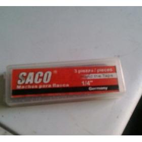 Machos Para Rosca De 1/4  Nc20 Saco