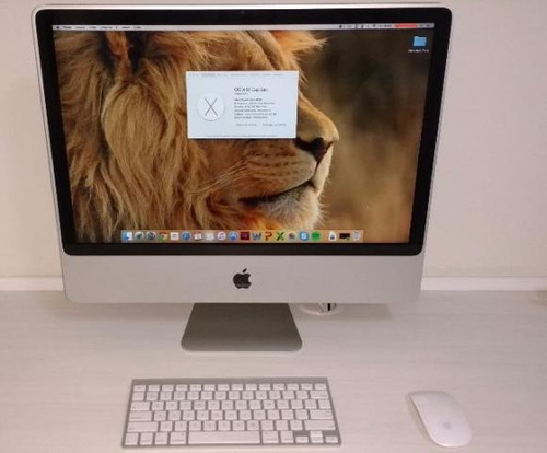macintosh (imac 24 polegadas - 2,8 ghz intel core 2 duo)