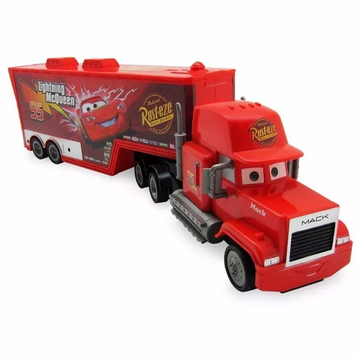 mack caminhão de fricção disney carros 43cm abre porta tras