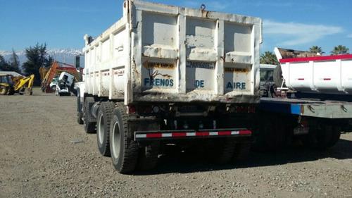 mack granite 2007 8x4  tolva