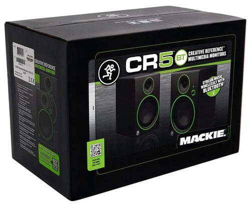 mackie 2  mackie cr5bt 5 monitores de estudio