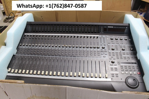 mackie d8b 56 input 72 channel digital mixer with power supp