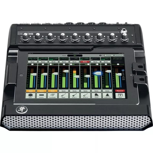 mackie dl806 mixer digital para ipad 8 canales soundgroup