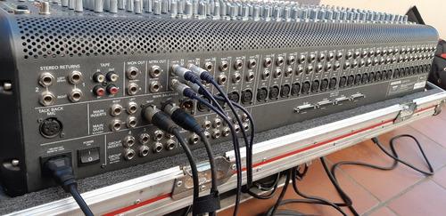 mackie onyx 32.4  32 canales 6 aux (incluye anvil)