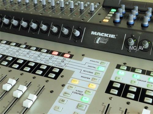 mackie tt24 consola digital para vivo 24 canales  (leer)