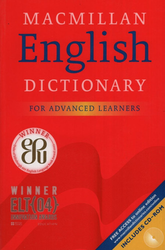 macmillan english dictionary for advanced learners with con