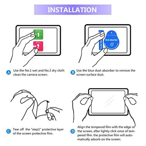 3 Clear LCD Protectores de Pantalla Saver para Cámara Panasonic Lumix DMC LX15