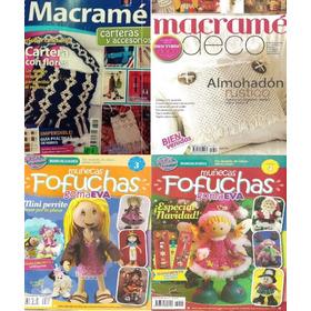 Macrame X 2 / Focuchas X 2 ( Pack X 4 ) - Lote 19