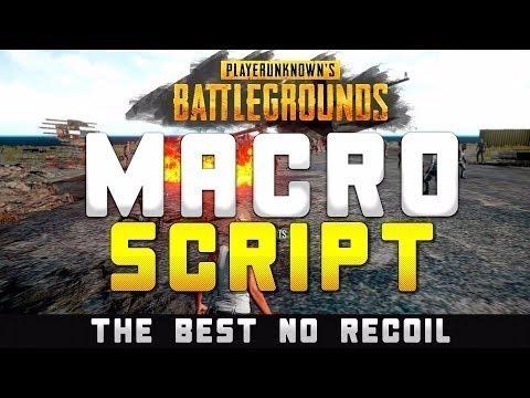 Macro Battlegrounds Pubg Atualizado 04/2019