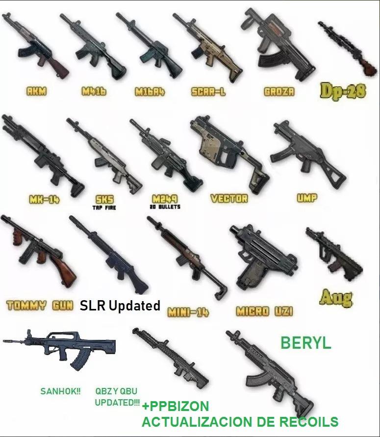 Arma Qbz Pubg - Ogmetro com