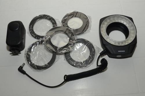 macro led ring neewer universal para camaras srl