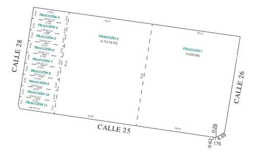macro lote en cholul, 4,715 m2