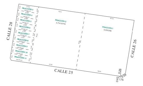 macro lote en cholul, 4,715 m2 , entrega enero 2020