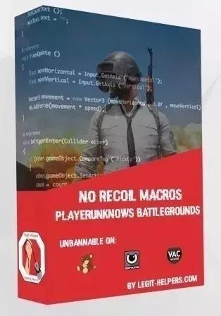 Macro Playerunknown's Pubg Recoil / Fullrecoil Br Macro V4 3