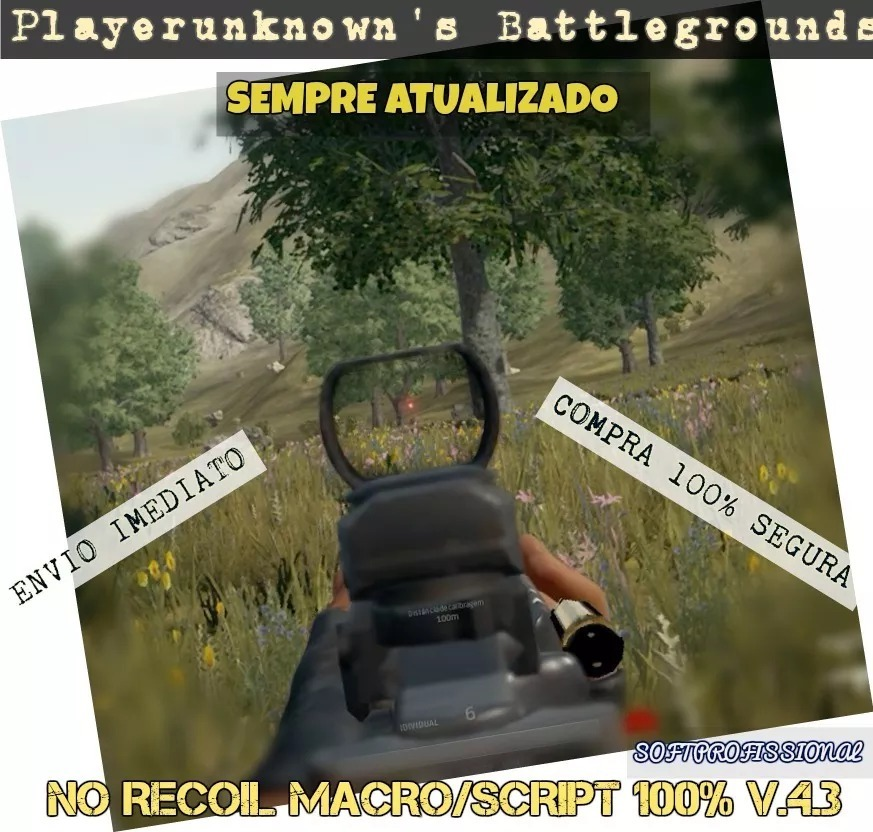 Macro Playerunknown's Pubg Recoil / Fullrecoil Br Macro V4 3