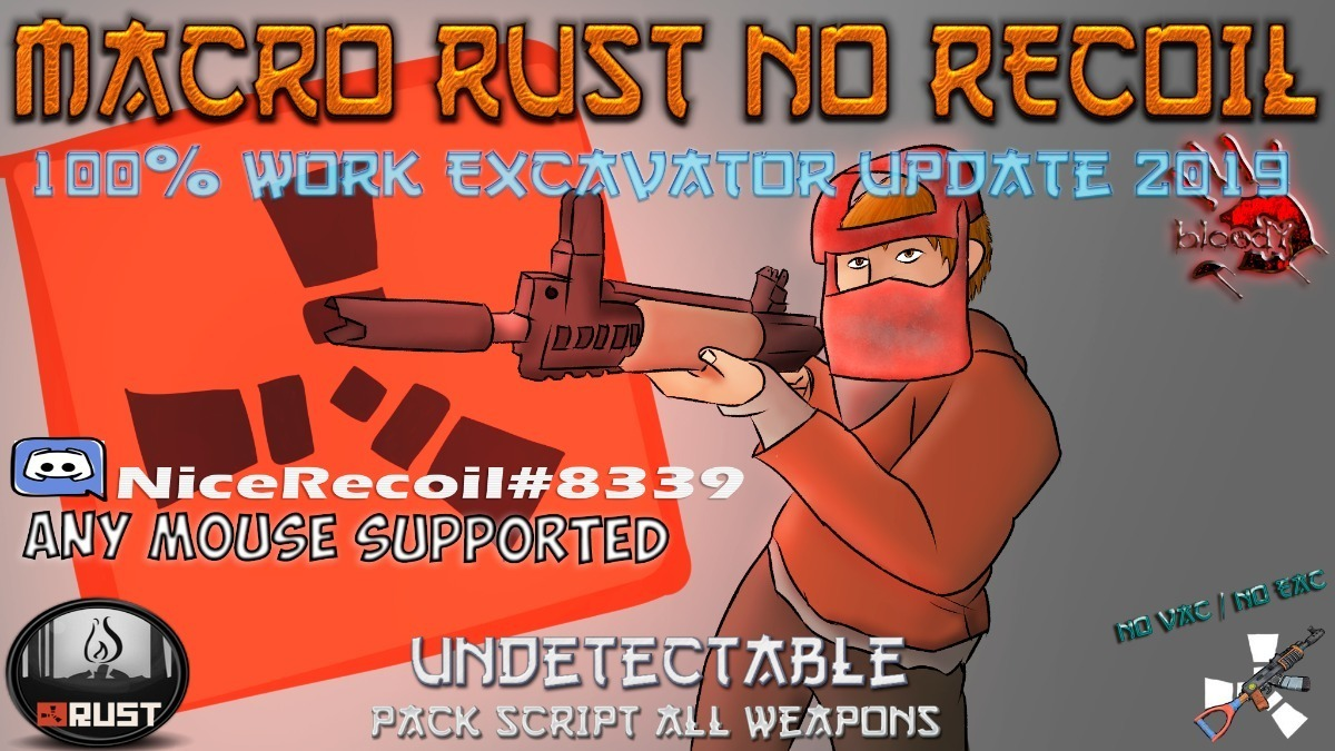 Macro Rust No Recoil - July Update (indetectavel) Newrecoil