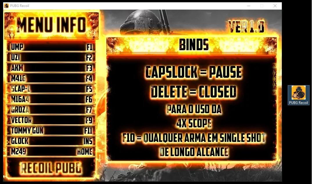 Macro Script Pubg De Recoil Battlegrounds