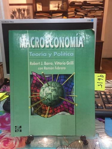 macroeconomía teoría y política // barro - grilli - febrero