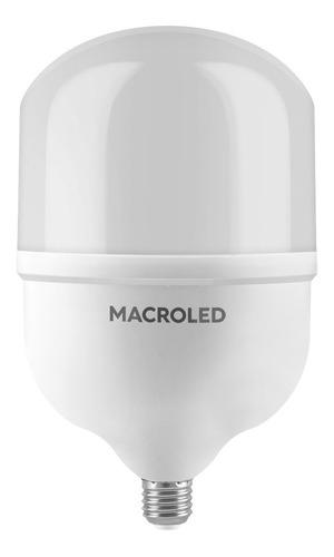 macroled high power bulbón 60w blanco frío 6500k e27