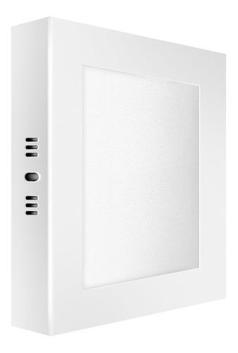 macroled panel plafón led cuadrado 24w cálido 3000k pc24
