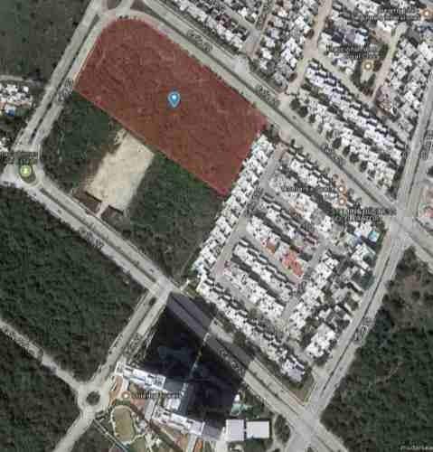 macrolote de casi 2 hectáreas en esquina, en el corazón de altabrisa, mérida