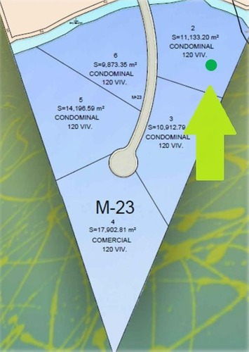 macrolote habitacional de 11,133.20 m2 en el mirador